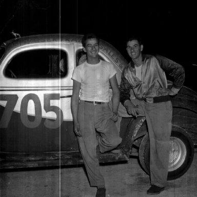 Bobby (L) & Billy Myers Probably at Danville, VA
