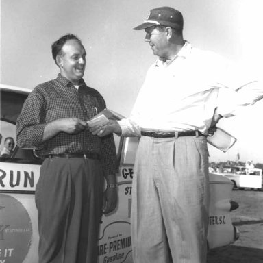 Gene Stokes and Bill France