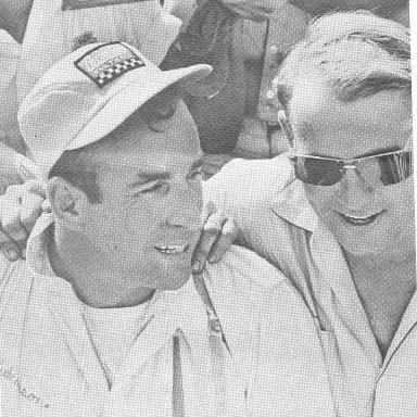 Dick Hutcherson Wins the 1967 Dixie 500
