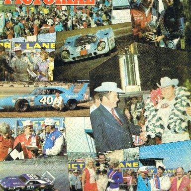 """Ramo Stott """"Racing Pictorial"""" Cover"""