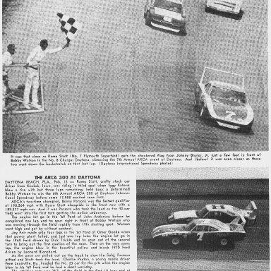 Ramo Stott Winning The 1970 ARCA 300