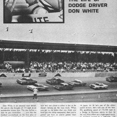 "Don White in ""Motorcade"" Magazine"