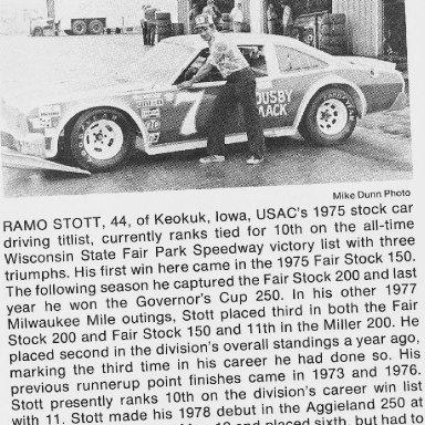 Ramo Stott 1977 Plymouth Volare