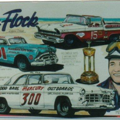 Tim Flock artwork
