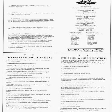 NASCAR Grand National Rules Page '48