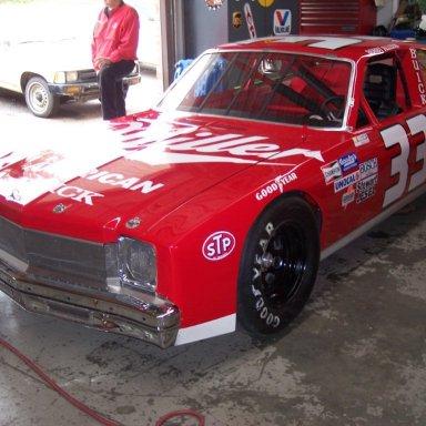 Bobby Allsion #33 Grand National Car