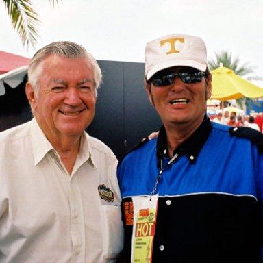 Bobby Allison & Lee Roy Mercer