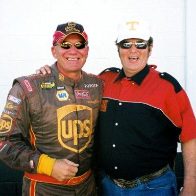 Dale Jarrett & Lee Roy Mercer