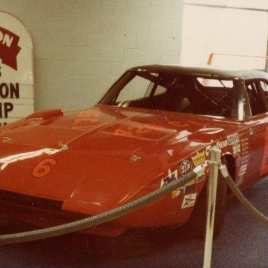 Buddy Baker Cotton Owens Daytona Weatherly Museum