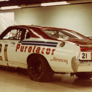 David Pearson Wood Brothers Mercury Weatherly Museum