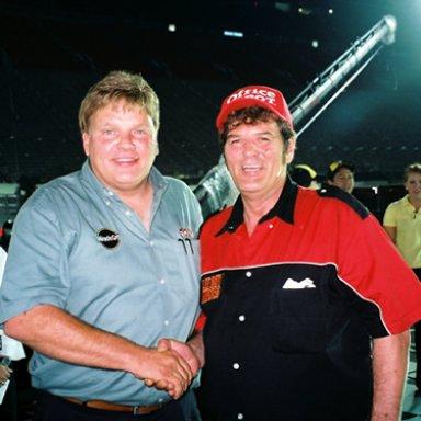Jimmy Spencer & Lee Roy Mercer