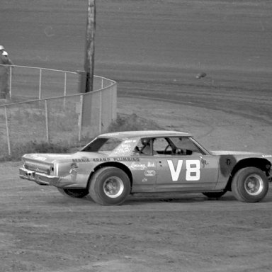 Who drove # V-8 ?