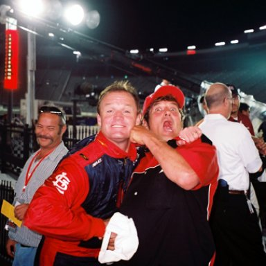 Kenny Wallace & Lee Roy Mercer