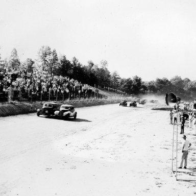 Occoneechee Speedway - Curtis Turner