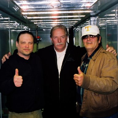 Jon Holtz, Robert Yates & Lee Roy Mercer