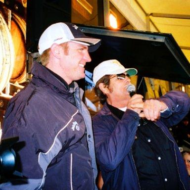 Clint Bowyer & Lee Roy Mercer