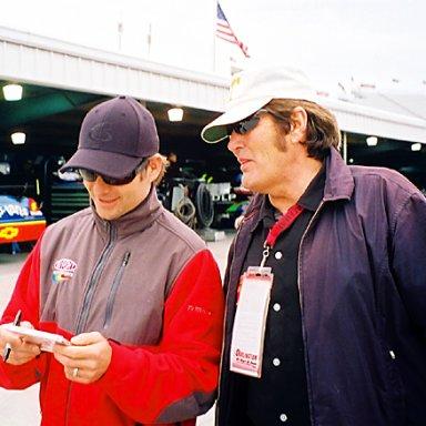 Jeff Gordon & Lee Roy Mercer