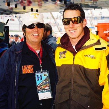 Lee Roy Mercer & Kyle Busch