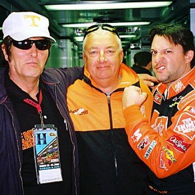 Lee Roy Mercer, Eddie, & Tony Stewart