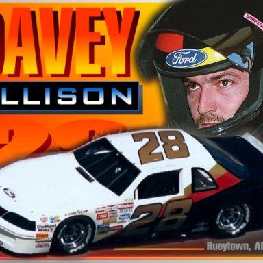 Davey Allison photo comp by David Bentley