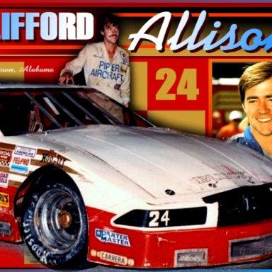 Clifford Allison photo comp by David Bentley