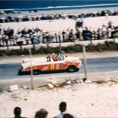 Roy Atkinson 1956 Daytona Convertible Race
