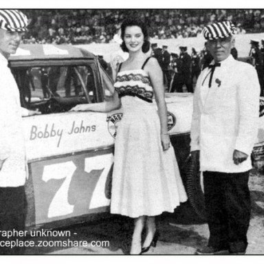 Bobby Johns - 1957 Darlington