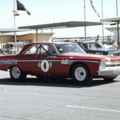 Ramo Stott's Plymouth ARCA car