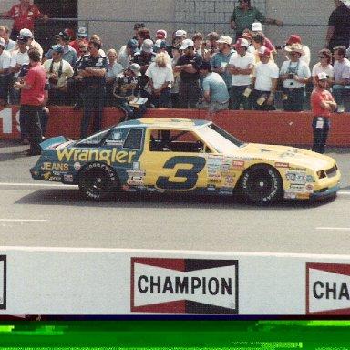 Dale Earnhardt 1987 Mich