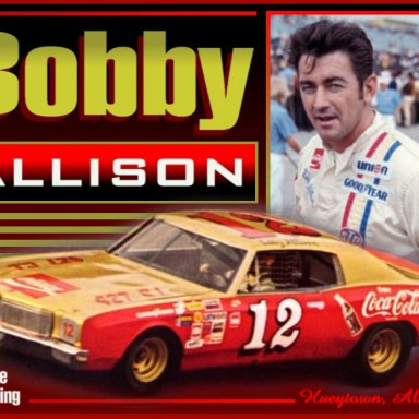 Bobby Allison photo comp by David Bentley