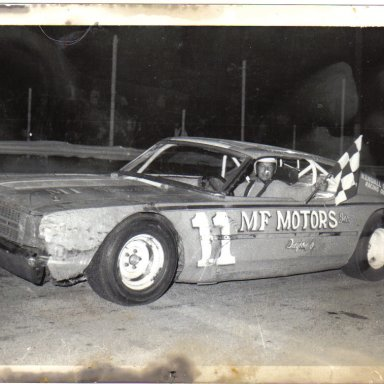 Dick Dunlevy Sr. Feature win   1969