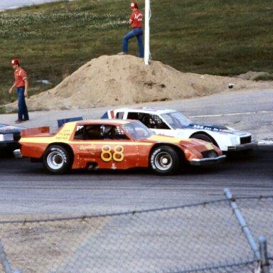 Don Biederman #88-1984 Oxford 250-In a Jeff Stevens Car