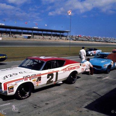 1971 Daytona Grid