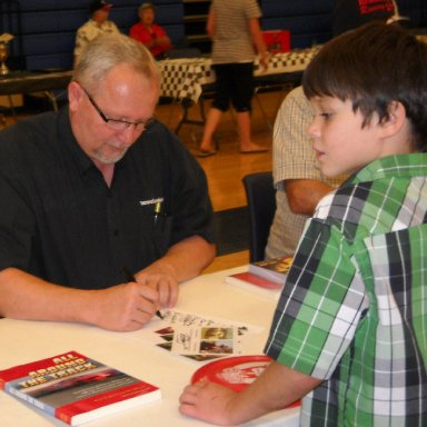 Jeff Gilder and Young Fan