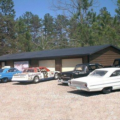 My vintage race car shop