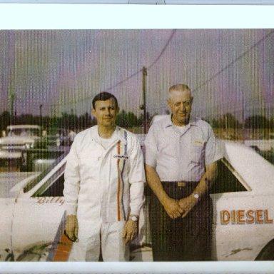 Billy Scott and Crew Member Mr. Love 1980s'