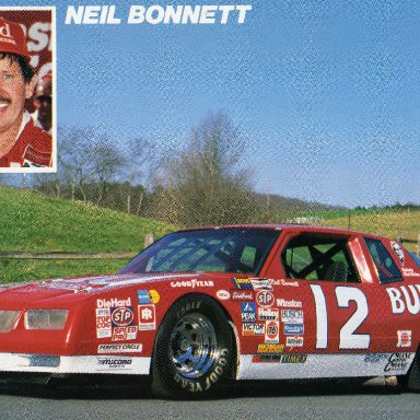 1986 Neil Bonnett
