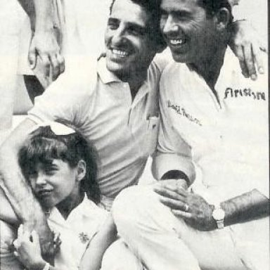 Tiger Tom, His Daughter Chrissy, David Pearson