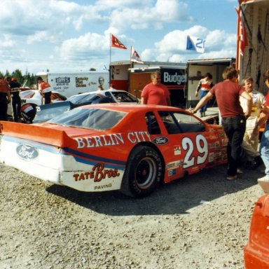 Dave Dion At Scotia Speedway(NS)-1988 or 1989