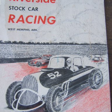 Riverside Speedway program