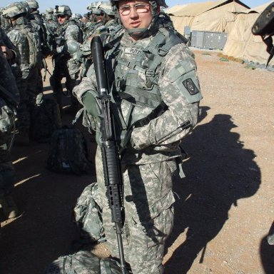 charlie jr ready to kick taliban butt