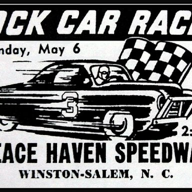 Peace Haven Speedway - May 6, 1956