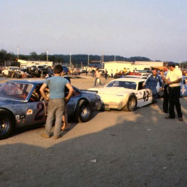 Don at the 1981 Oxford 250,#16 car is Stub Fadden