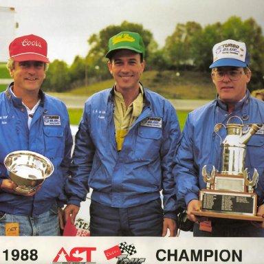 Robbie Crouch(center)-1989 ACT Calendar