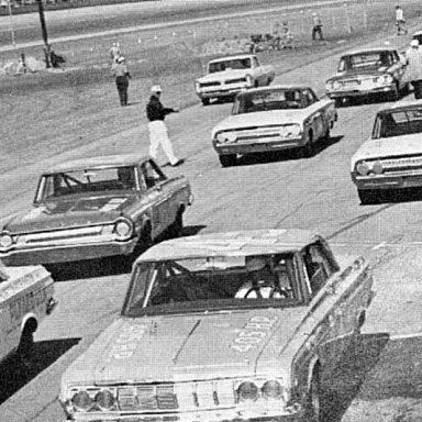 1964 Daytona grid