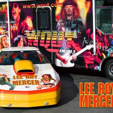 Lee Roy Mercer, WQUT FM Whoop-Ass Corvette