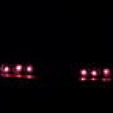 rear end of 64 Impala SS, yes the tail lights are really working