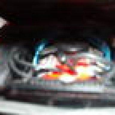 64 Impala SS/ engine compartment