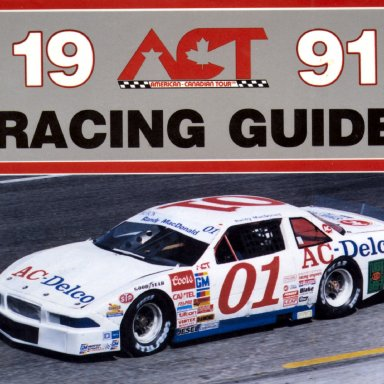 Randy MacDonaldon the cover of  the 1991 ACT Guide
