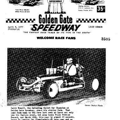 EVENT PROGRAM '77